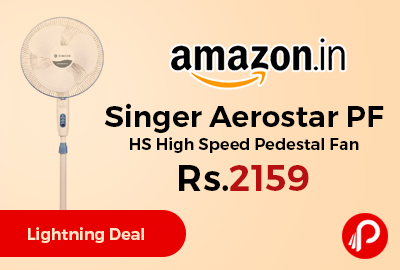 Singer Aerostar PF HS High Speed Pedestal Fan