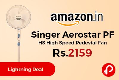 Singer Aerostar PF HS High Speed Pedestal Fan