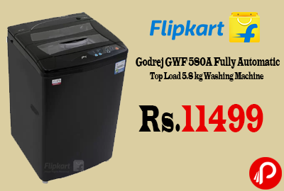Godrej GWF 580A Fully Automatic Top Load 5.8 kg Washing Machine