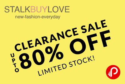 StalkBuyLove Clearance Sale