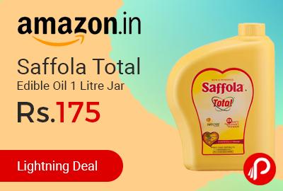 Saffola Total Edible Oil 1 Litre Jar