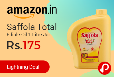 Saffola Total Edible Oil 1 Litre Jar