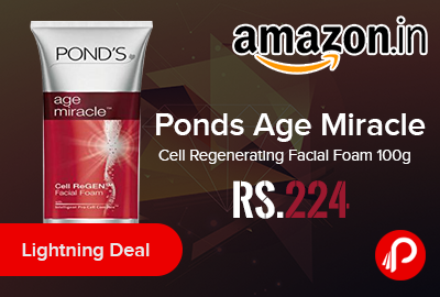 Ponds Age Miracle Cell Regenerating Facial Foam 100g
