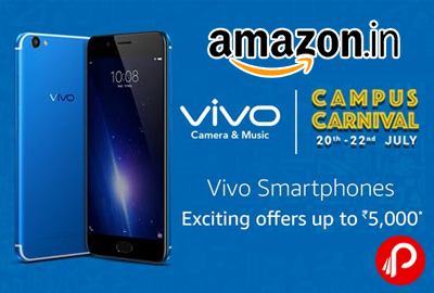 Vivo Smartphones Campus Carnival 20th - 22th July