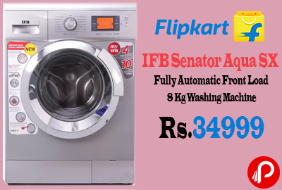 IFB Senator Aqua SX Fully Automatic Front Load 8 Kg Washing Machine