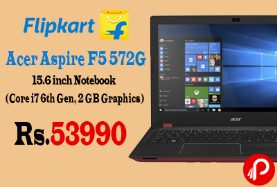 Acer Aspire F5 572G 15.6 inch Notebook