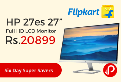"HP 27es 27"" Full HD LCD Monitor"