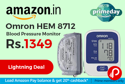 Omron HEM 8712 Blood Pressure Monitor