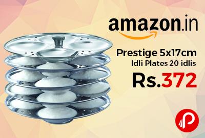 Prestige 5x17cm Idli Plates 20 idlis