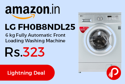 LG FH0B8NDL25 6 kg Fully Automatic Front Loading Washing Machine
