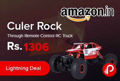 Culer Rock Through Remote Control RC Truck