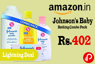 Johnson's Baby Bathing Combo Pack