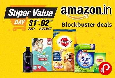 Super Value Day Blockbuster Deals