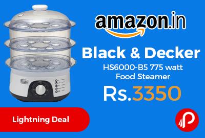 Black & Decker HS6000-B5 775 watt Food Steamer