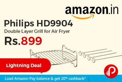 Philips HD9904 Double Layer Grill for Air Fryer