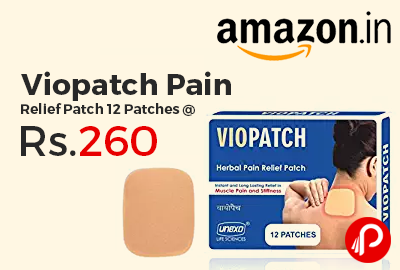 Viopatch Pain Relief Patch 12 Patches