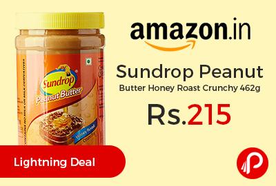 Sundrop Peanut Butter Honey Roast Crunchy 462g