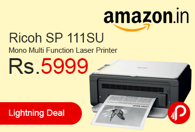 Ricoh SP 111SU Mono Multi Function Laser Printer