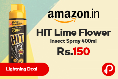 HIT Lime Flower Insect Spray 400ml