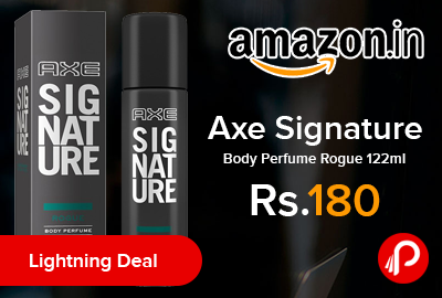 Axe Signature Body Perfume Rogue 122ml