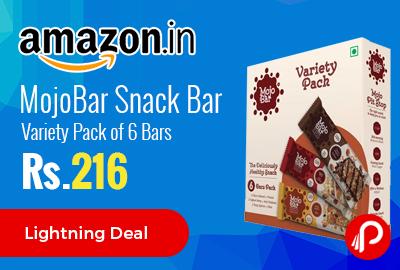 MojoBar Snack Bar Variety Pack of 6 Bars