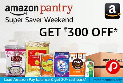 Amazon Pantry Super Saver Weekend