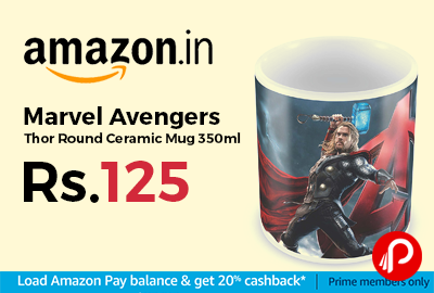 Marvel Avengers Thor Round Ceramic Mug 350ml