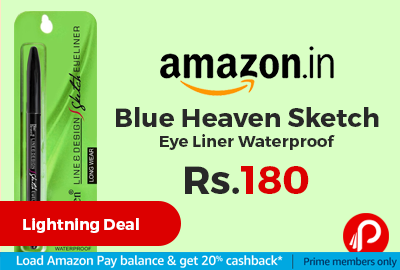 Blue Heaven Sketch Eye Liner Waterproof