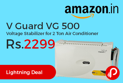 V Guard VG 500 Voltage Stabilizer for 2 Ton Air Conditioner