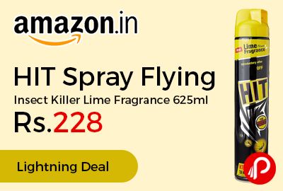 HIT Spray Flying Insect Killer Lime Fragrance 625ml