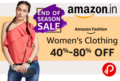 End of Season Sale Women's Clothing