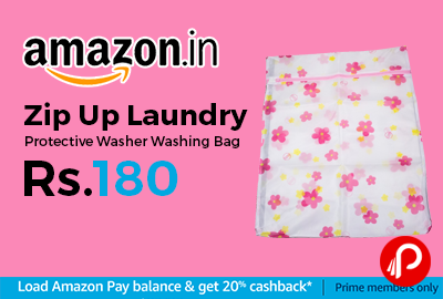 Zip Up Laundry Protective Washer Washing Bag