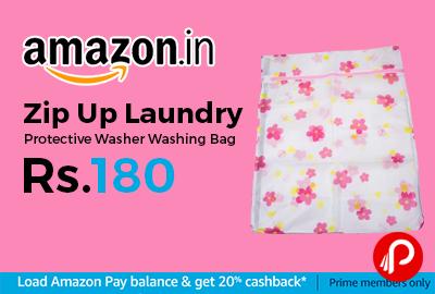 Zip Up Laundry Protective Washer Washing Bag