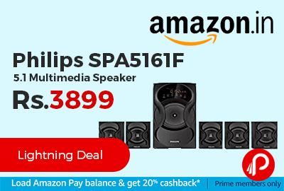 Philips SPA5161F 5.1 Multimedia Speaker