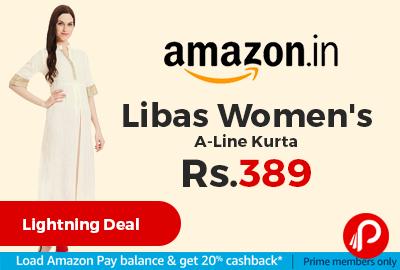 Libas Women's A-Line Kurta