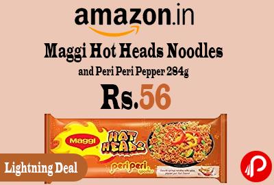 Maggi Hot Heads Noodles and Peri Peri Pepper 284g