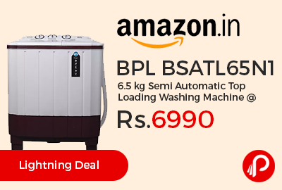 BPL BSATL65N1 6.5 kg Semi Automatic Top Loading Washing Machine