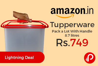 Tupperware Pack a Lot With Handle 8.7 litres