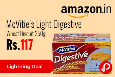 McVitie's Light Digestive Wheat Biscuit 250g
