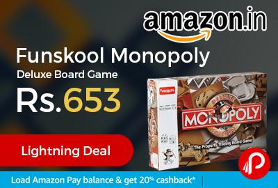 Funskool Monopoly Deluxe Board Game