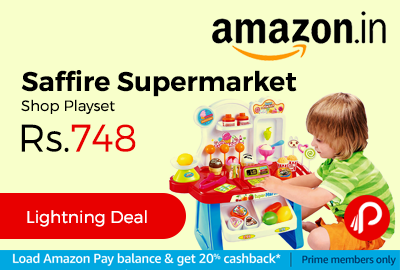 Saffire Supermarket Shop Playset