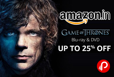 Game Of Thrones TV Series Blu-Ray and DVD