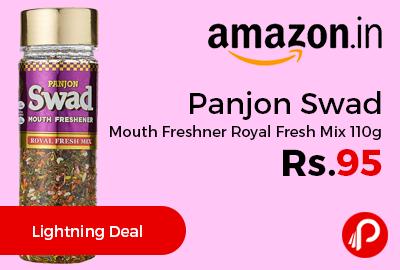 Panjon Swad Mouth Freshner Royal Fresh Mix 110g