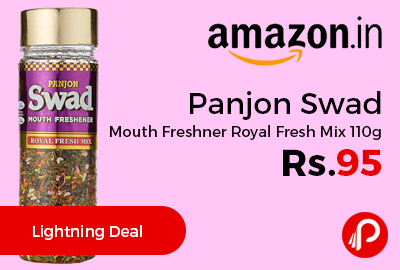 Panjon Swad Mouth Freshner Royal Fresh Mix 110g