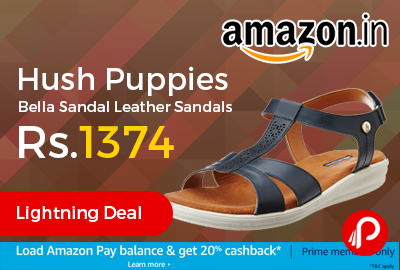 Hush Puppies Bella Sandal Leather Sandals