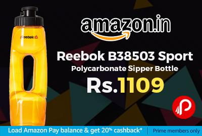 Reebok B38503 Sport Polycarbonate Sipper Bottle