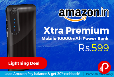 Xtra Premium Mobile 10000mAh Power Bank
