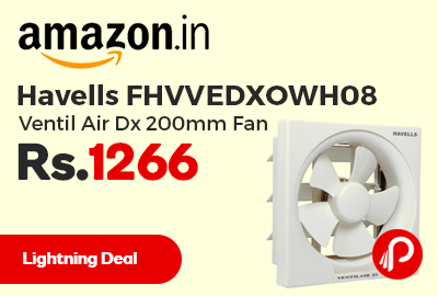 Havells FHVVEDXOWH08 Ventil Air Dx 200mm Fan