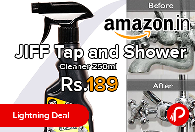 JIFF Tap and Shower Cleaner 250ml