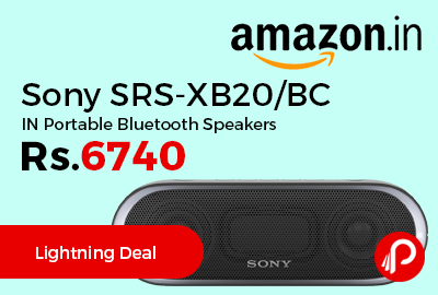 Sony SRS-XB20/BC IN Portable Bluetooth Speakers